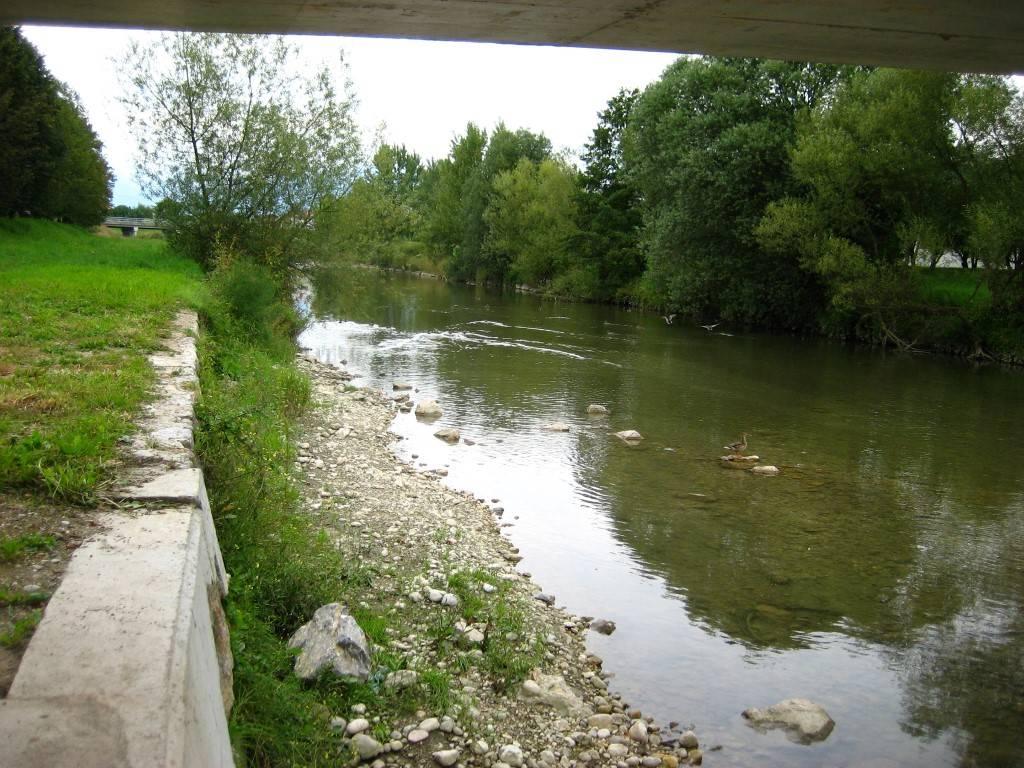 Il fiume kamniška bistrica (dalla diga da homec fino alla confluenza