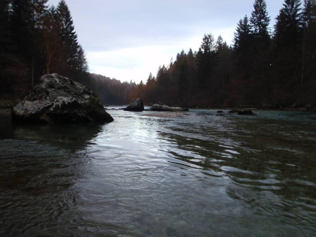 Il fiume sava (da rakovnik al ruscello appena prima della confluenza