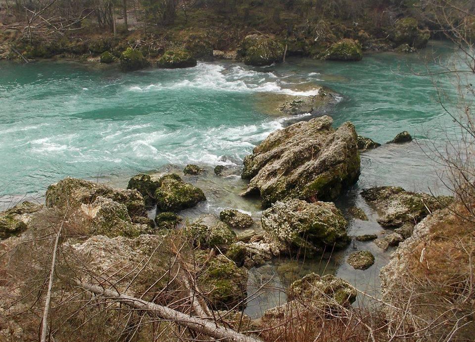 Il fiume sava (dalla foce di tržiška bistrica alla diga a